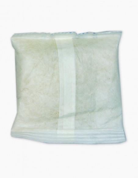 Sachet déshydratant d'argile de 120 gr vue arrière du produit.