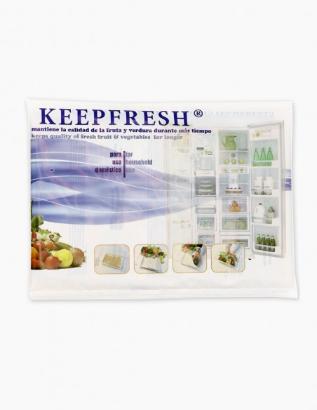 Ethylene absorbent keepfresh sheets to delay the ripening of fruits and vegetables