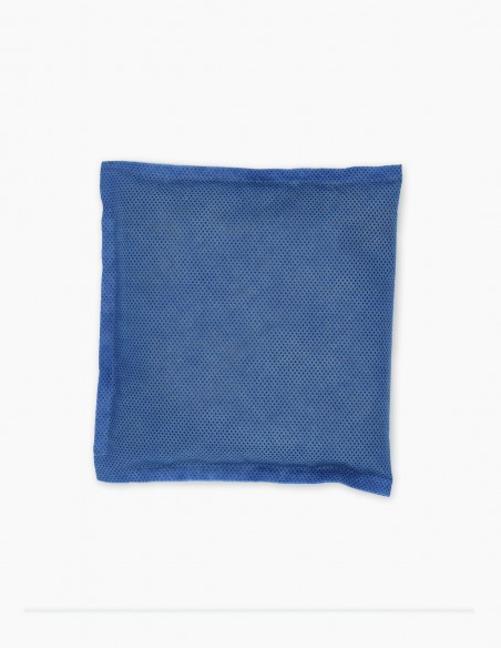 Odor absorbing bag for placement in the spaces to be deodorized.