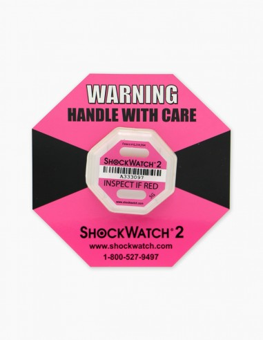 Companion Label 1 with its correspondent Shockwatch 2 5G (Pink)