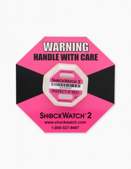 Companion Label 1 y dentro su Shockwatch 2 5G (Pink)