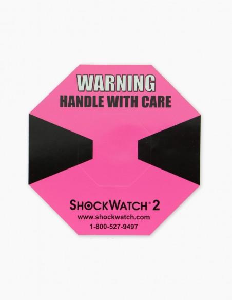 Companion Label numéro 1 qui accompagne le Shockwatch 2 5G (Pink)