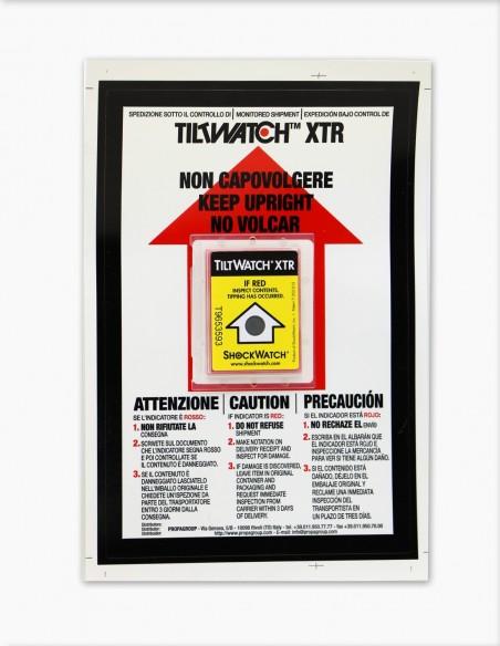 Tiltwatch XTR placé sur son Companion Label