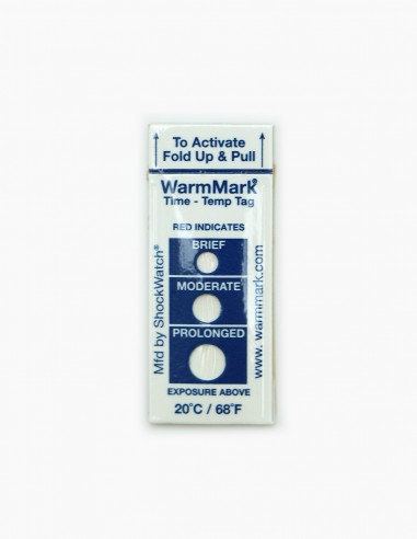 WarmMark Temperature Indicator Card
