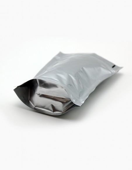 Détail du pied du sac Doy Pack - aluminium