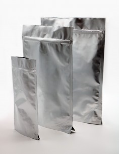 Doy Pack Stand Up Bags - aluminum