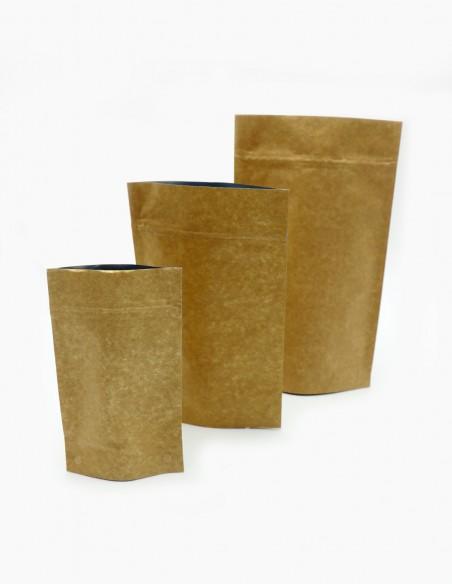 Bolsas de Pie Doy Pack Laminado Aluminio Kraft