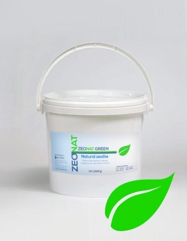 Zeolita Natural para líquidos y olores ZEONAT GREEN