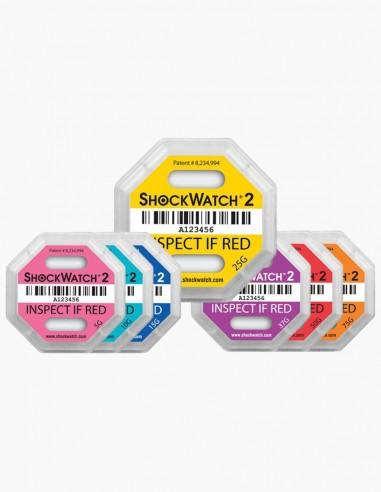 Todos los tipos de Shockwatch 2