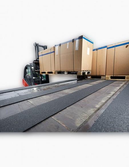Antideslizante para el transporte en camiones