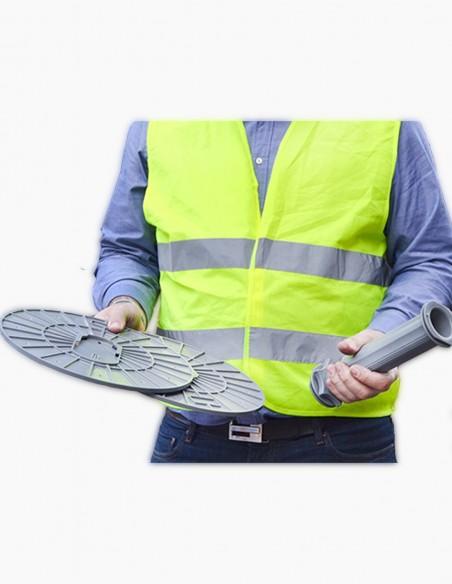 Sistema rápido y manual de protección
