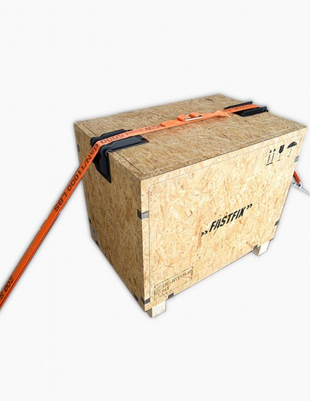 Cantoneras de protección para el transporte de mercancías en camión