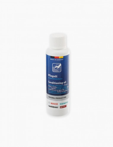 Conditioning oil for stainless steel surfaces