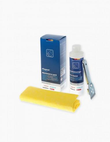 Set de nettoyage pour plaques vitrocéramiques