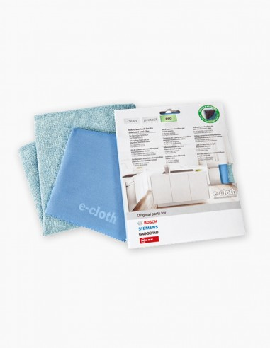 Cleaning cloth for stainless steel, granite and glass