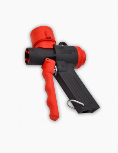 Pistola de aire Mini Jet Flow con manómetro