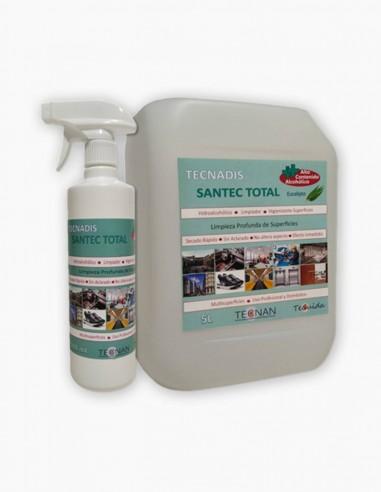 Nettoyant de surface assainissant total Tecnadis Santec